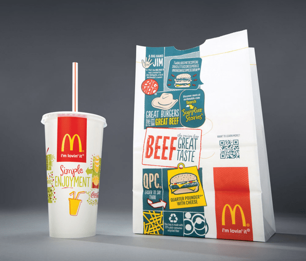 Can Packaging Design Make You Feel Better About Eating Fast