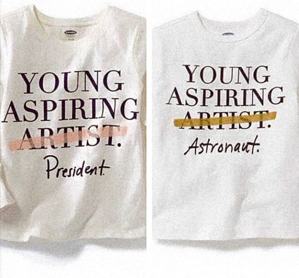 Old Navy Discourages Kids From Being Artists, And One Artist Responded In The Best Way