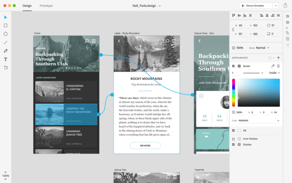 Adobe XD Is A Slick UX Design Tool With Zero Learning Curve