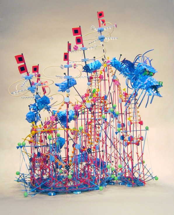 Visualizing A Hurricane's Wrath With Wild, Kinetic Data Sculptures