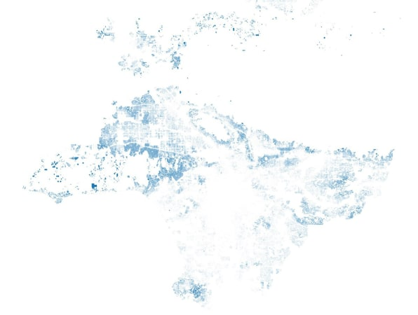 A Crazy Map Of 250,000 Swimming Pools Reveals Los Angeles County's on