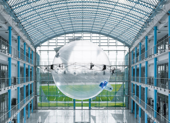 These Bubble-Like Delivery Drones Are Safer In A Crash
