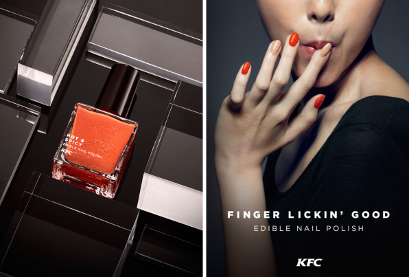 KFC\'s New Nail Polish Is Finger Lickin\' Good, If You Know What We Mean