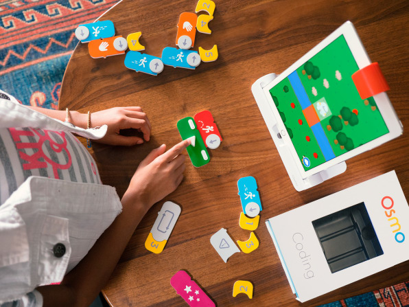 Can Learning To Code Be As Simple As Lego?