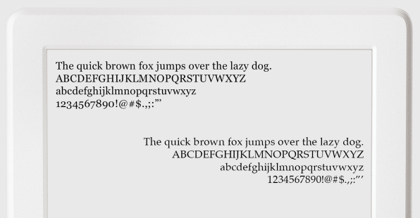 Which Font Should I Use On My Kindle?