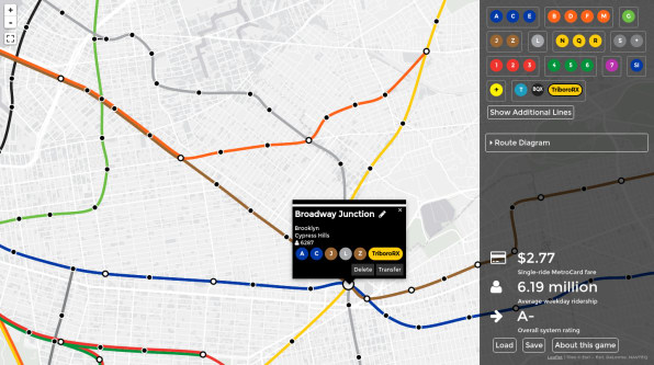 New York Subway Map Future.Live Your Transit Dream And Redesign The New York City Subway From Scr