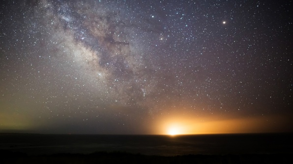 A Stunning Visualization Of How Light Pollution Hides The