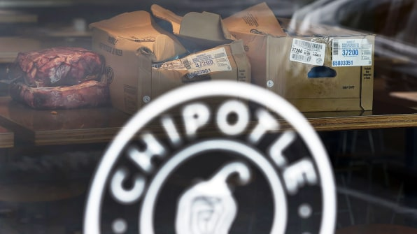 fd2b747878376c Boxes of meat sit on a table inside a Chipotle Mexican Grill restaurant on  November 3