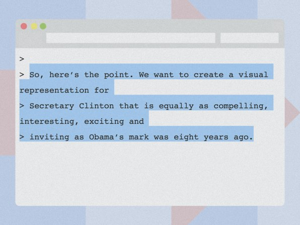 What The WikiLeaks Emails Reveal About Branding Hillary