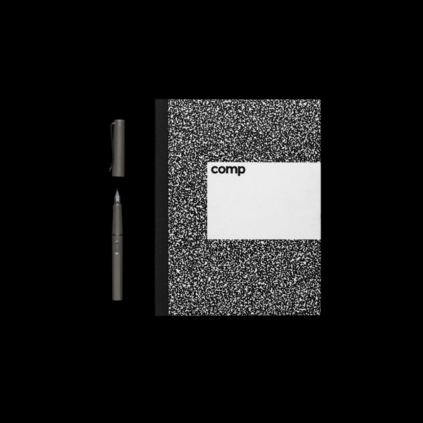 The Composition Notebook Gets A Luxurious Redesign