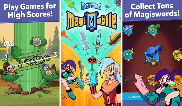 """Cartoon Network Keeps Innovating With """"Mighty Magiswords"""" App"""