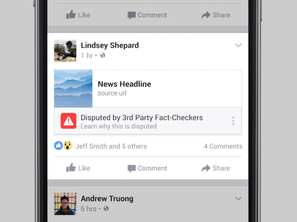 Here Is Facebook's First Serious Attempt To Fight Fake News
