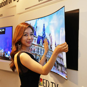 This Ultrathin OLED TV Hangs On The Wall Like A Poster