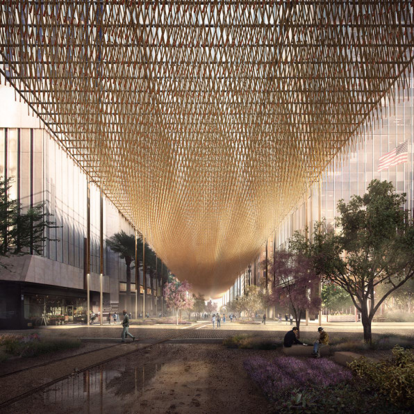 This Urban Canopy Could Help Cool Super Hot Cities