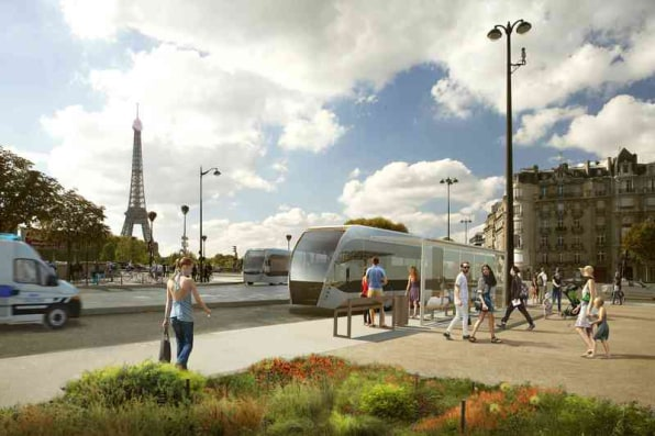 To Clean Its Air, Paris Is Kicking Cars Off More Major Streets