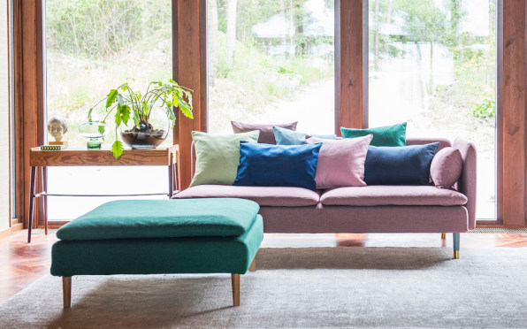 Of course, Ikea furniture isn't necessarily made to last. And not all couches (ahem, West Elm) deserve to be reupholstered.