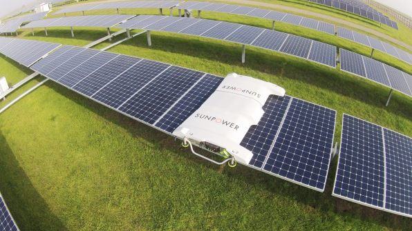 Drones Are Making Solar Farms Way More Efficient
