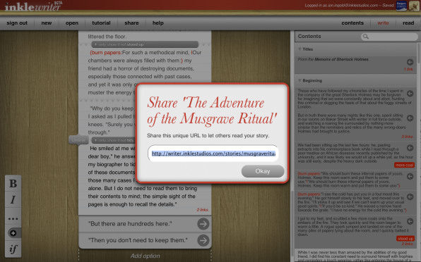 Write 'Choose Your Own Adventure' Books Through This Clever HTML5 App