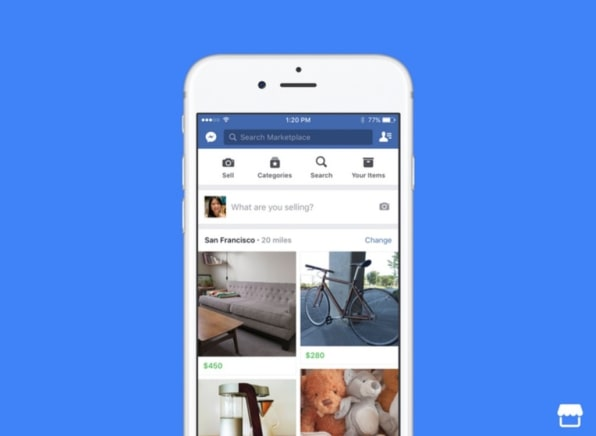 Facebook introduces a Craigslist competitor for buying and
