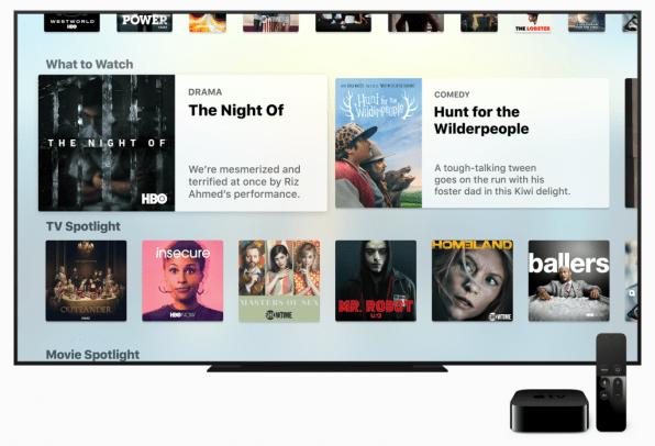 Apple update brings new TV app to Apple TV
