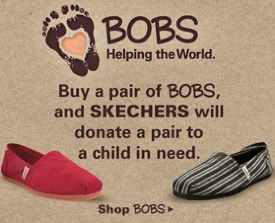 3ebb0a84fd5 This week Skechers copied the concept behind for TOMS shoes by launching  BOBS (link no longer available). Just like TOMS
