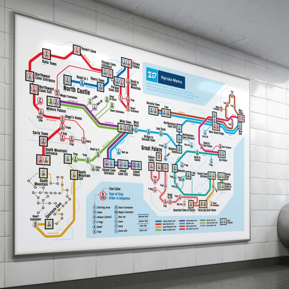 1987 Subway Map.6 Classic Nintendo Gameworlds Redrawn As Subway Maps