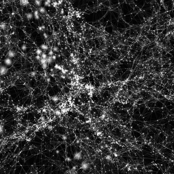 Visualizing The Cosmic Web That Holds The Universe Together