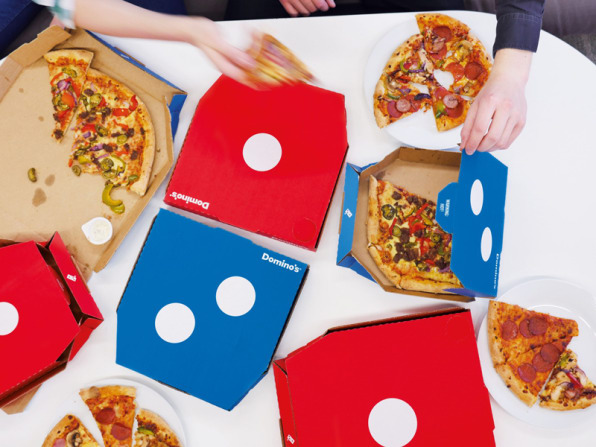 Image result for dominos logo on pizza