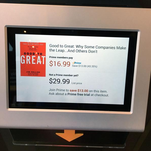 With amazon books jeff bezos is solving digital retails biggest desi photo courtesy the author gumiabroncs Choice Image