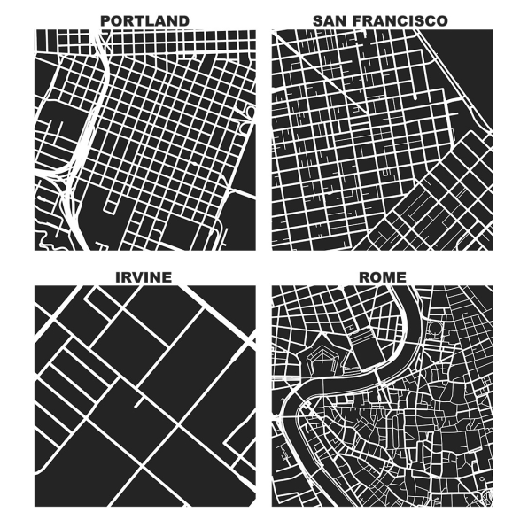 Turn Your Local Streets Into A Map That Reveals The Character Of Your Neighborhood
