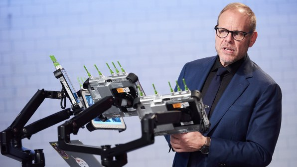 """Alton Brown Finally Gets The """"Iron Chef"""" He's Always Dreamed Of"""