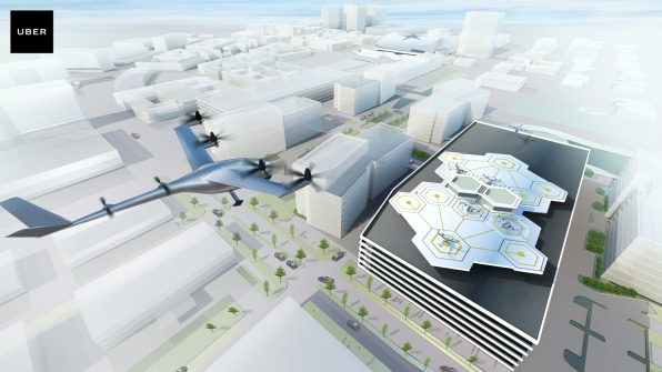 Uber's Flying Taxis Will First Take To The Skies In Dallas-Fort Worth