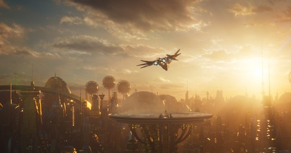 "Why That Epic Opening Scene In ""Guardians Of The Galaxy Vol  2"" Was th"