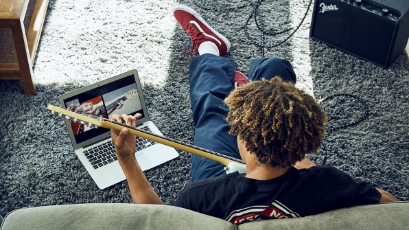 How Fender Is Reinventing Online Guitar Lessons For The Age Of Distrac