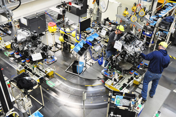 At Toyota, The Automation Is Human-Powered