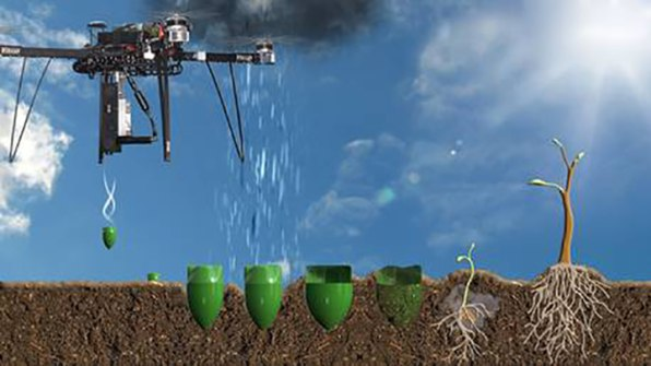 These Tree-Planting Drones Are About To Start An Entire