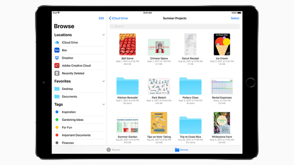 Here Are The iPad Apps That Show Off iOS 11's New Drag-And