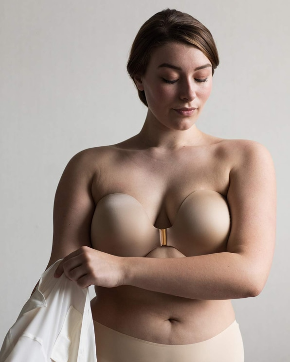 857eb115cdf64 There s no trace of the buyer s body size number on the actual bra. For  McKeen