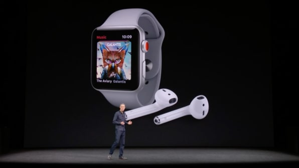 Apple Announces Apple Watch Series 3 Its First Internet Connected Wea