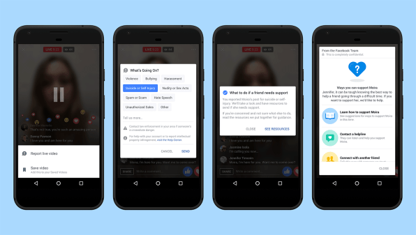 How Facebook's AI Is Helping Save Suicidal People's Lives