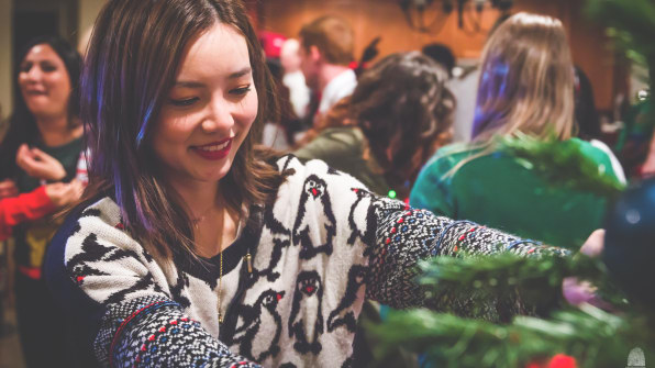 How To Best Organize And Share Those Ugly Sweater And Office Party Pic