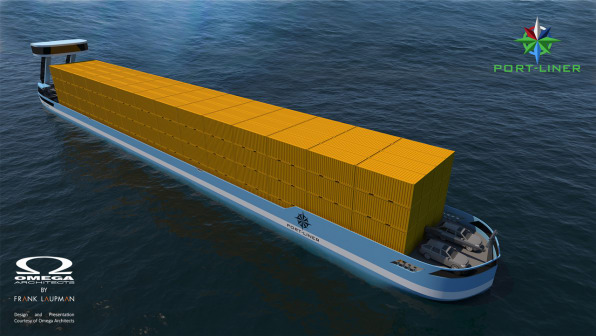 These Electric Barges Are A Cleaner Cargo Solution Than Trucks