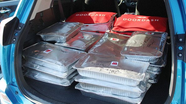 Best Car Donation Program >> DoorDash Is Now Using Its Algorithm To Deliver Extra Food From Restaur