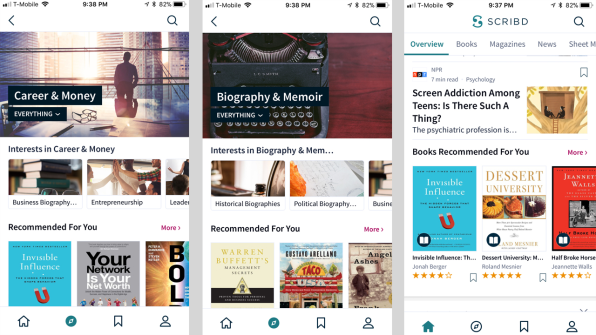 """Scribd's Quest To Be """"The Netflix Of Reading"""" Is Finally"""