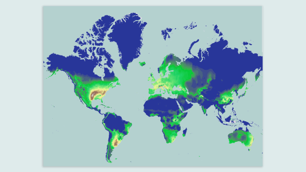 Changes In World Map on