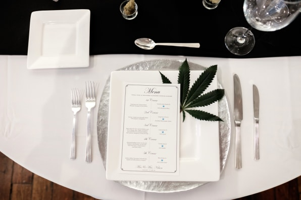 It S High Times For Brides At Cannabis Wedding Expo
