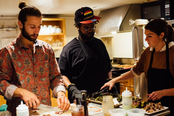 At These Pop-Up Dinners, The Chefs (And The Guests) Are Homeless