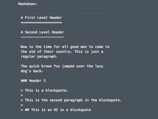 For focused writing, Markdown is your best friend