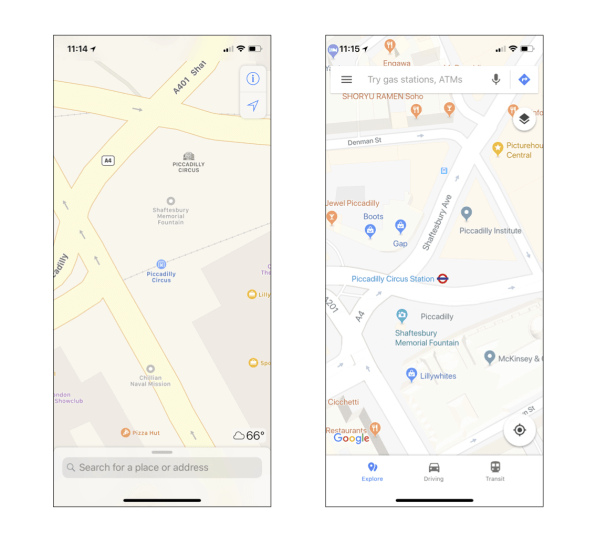 Apple Maps Flaws Are Keeping Me From Dumping Google For Good