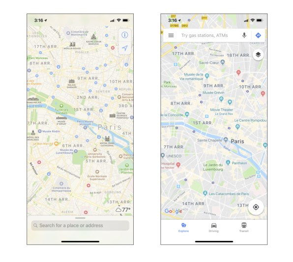 Apple Maps' flaws are keeping me from dumping Google for good